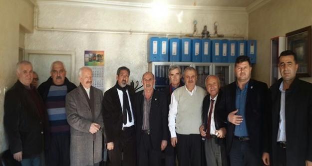 CHP İl Örgütü Melendiz Derneğini Ziyaret Etti