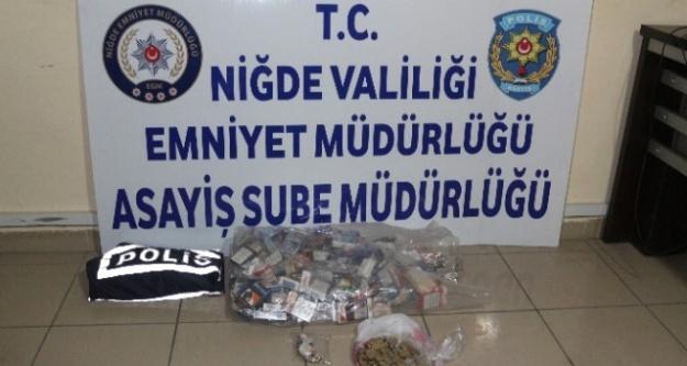 Sigara Hırsızları Bekar evinde Yakalandı