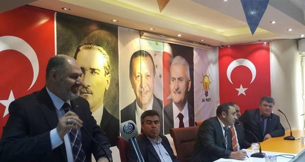 AK Parti Merkez İlçe Danışma Meclisi Toplantısını Yaptı