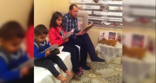 Kemal Çetintürk İlkokulu'ndan ''Ailece Kitap Okuyoruz ''Etkinliği