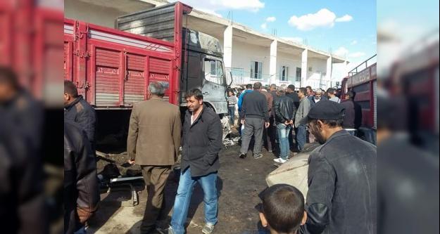 TIR'ın yakıt deposu patladı: 1 ölü