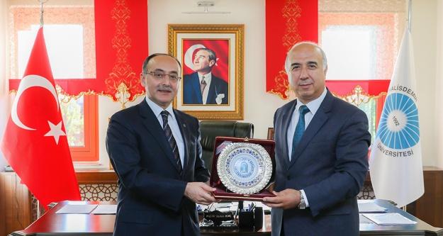 Ankara Yıldırım Beyazıt Üniversitesinden ziyaret