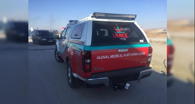 UMKE'ye tam donanımlı araç teslim edildi