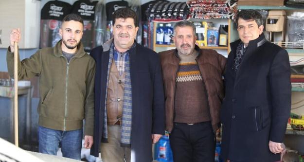 MHP Belediye Başkan adayı Er'den Esnaf Ziyareti