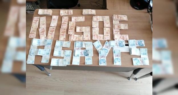 Niğde#039;de otomobilden 30 bin lira çalan 2 şüpheli yakalandı