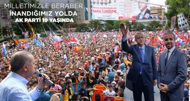 Gültekin'den AK Partinin 19. Kuruluş yıl dönümü mesajı
