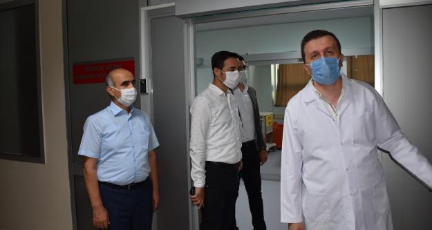 Hastaneye hayırseverlerin yardımıyla 3 milyonluk yeni birimler yapıldı