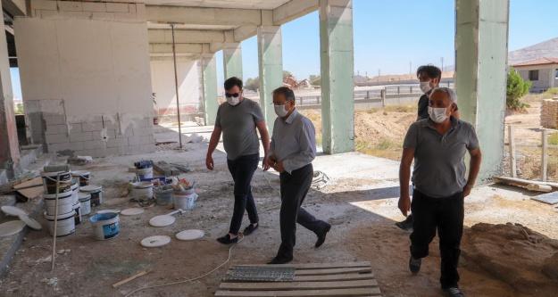 İl Milli Eğitim Müdürü Yaşar, okul inşaatlarını yerinde inceledi