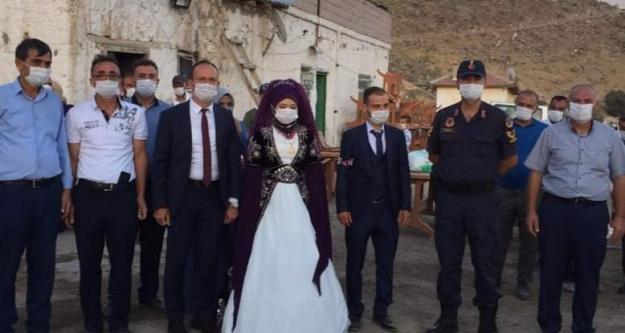 Kaymakam Akpınar Koronavirüs nedeniyle Düğünleri Denetledi