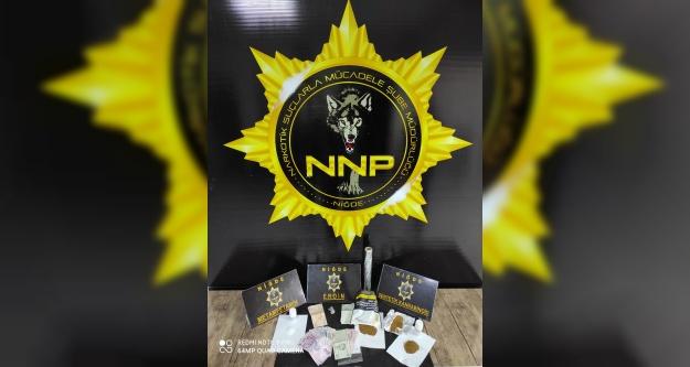 Emniyetten uyuşturucu operasyonu 2 gözaltı