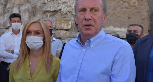 Eski CHP Milletvekili Muharrem İnce, Niğde'yi ziyaret etti