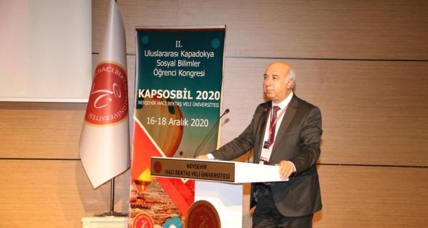 II. Uluslararası Kapadokya Sosyal Bilimler Öğrenci Kongresi Başladı