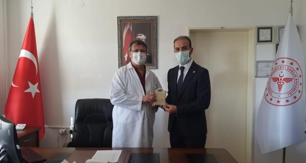 Milletvekili Gültekin, sağlıkçıları ziyaret etti