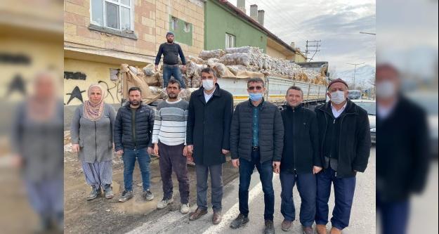 Üsküdar belediyesi patates çiftçisine destek olmak için 350 ton patates aldı