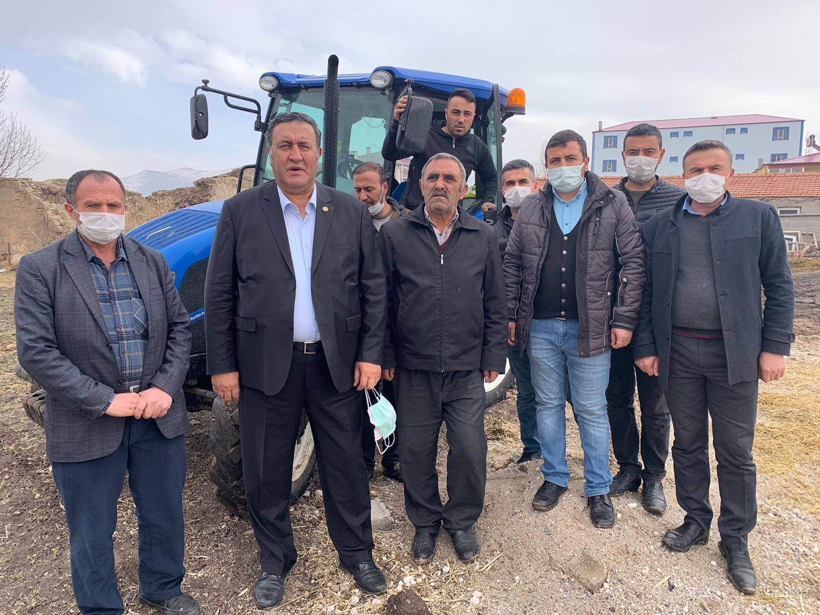 """Gürer, 'Tarım arazilerinin azalması kaygı verici boyutlara ulaştı"""""""