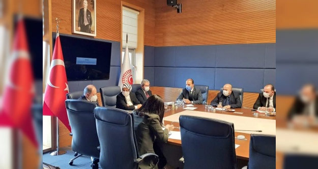 Milletvekili Gültekin'den Bakan Koca'ya ziyaret
