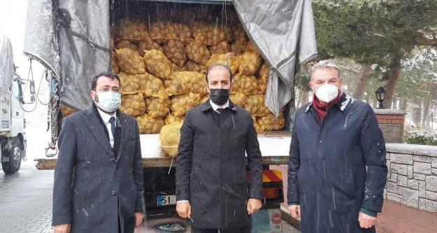 Niğde TMO, Niğde'de Patates Alımlarına Başladı