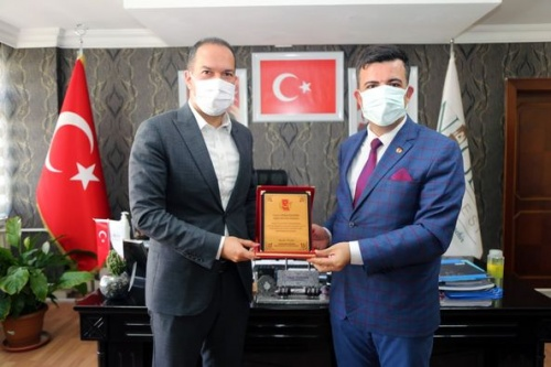 Gazeteciler Cemiyeti'nden Başkan Özdemir'e Ziyaret