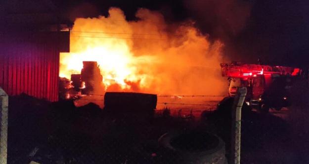 Bor'daki Yangın Korkuttu!