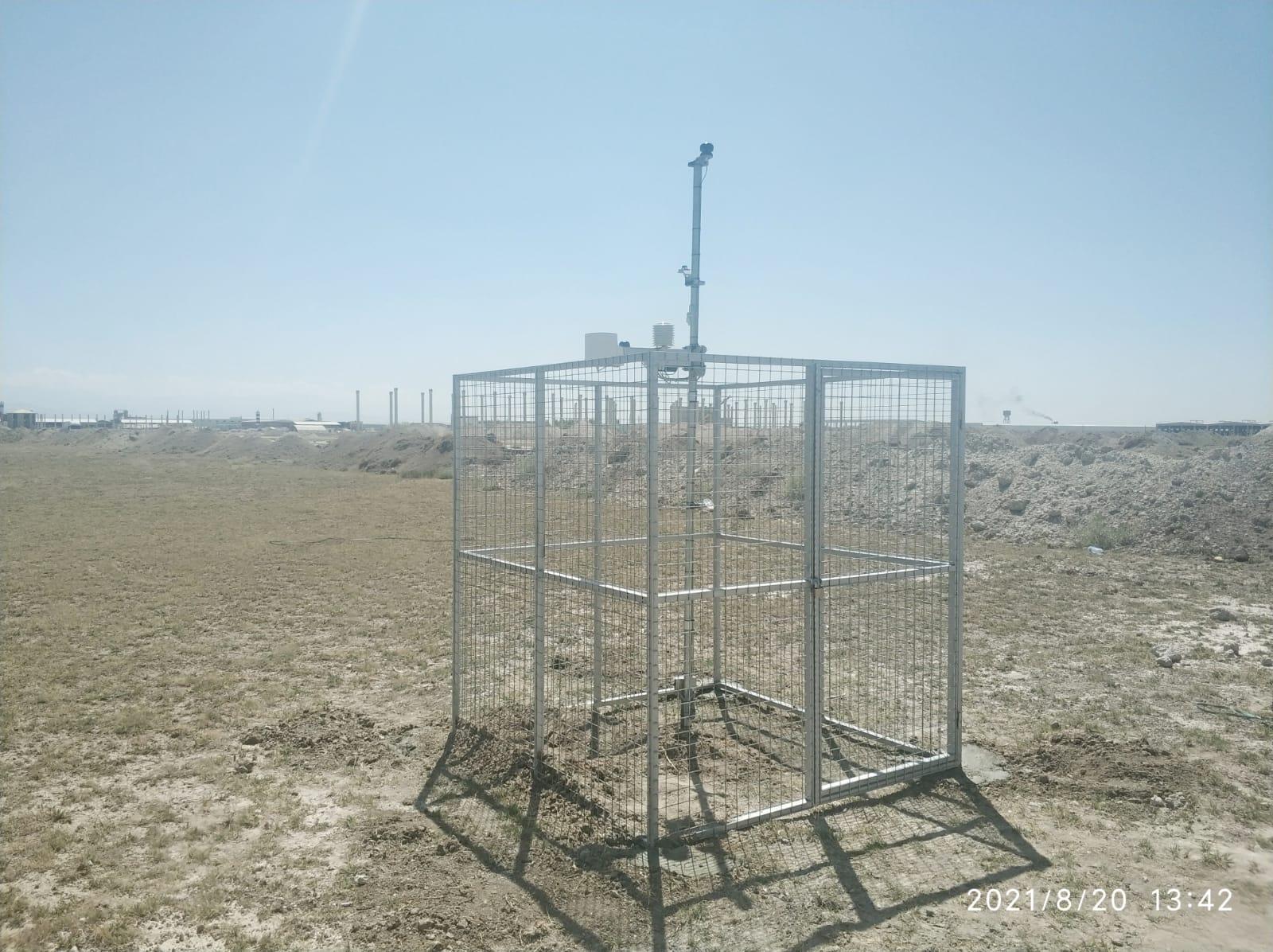 Bor OSB'ye meteoroloji istasyonu kuruldu