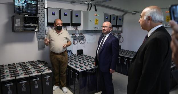 KOP Başkanı Şahin'den UNİKOP Enerji Evine Ziyaret