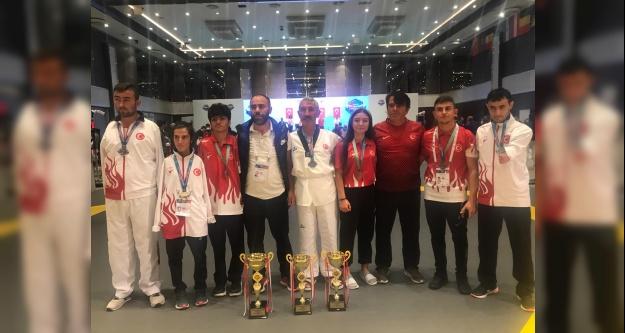 Niğdeli Para Taekwondo Sporcuları Avrupa Şampiyonasına Damga Vurdular
