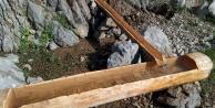 Demirkazık bölgesindeki 6 noktaya oyma su yalağı konuldu