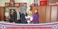 Karaca' dan Başkan Ünüvar' a Teşekkür Ziyaret