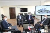 Rektör Kar'dan Başkan Özdemir'e ziyaret