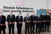 Girişimcilik ve Meslek Edindirme Atölyeleri açıldı