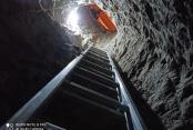 Evinde 'tarihi eser' bulma amacıyla 9 metre tünel açtı