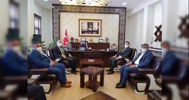 Başkan Özdemir'den, Çamardı Ziyareti