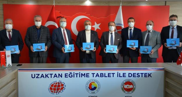 NİTSO İLE NTB'den uzaktan eğitime tablet desteği