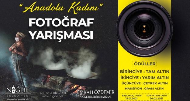 'Anadolu Kadını' fotoğraf yarışması başlıyor
