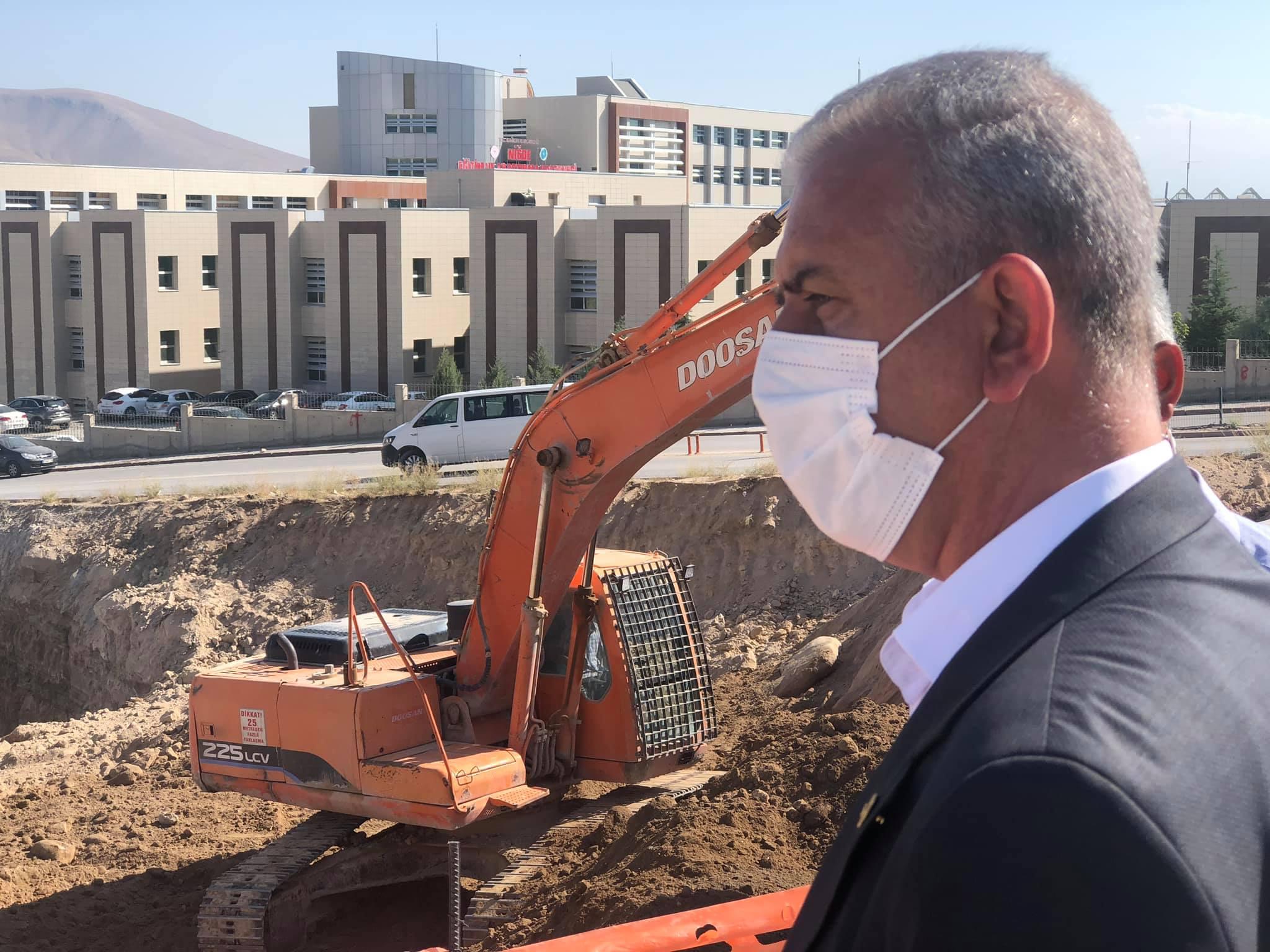 Ergun, 'Niğde'ye sağlık alanında 637 Milyon TL yatırım yapıldı