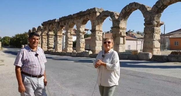 YouTuber Güler, Tyana Antik Kenti  Bir An Önce Turizme Kazandırılmalı!