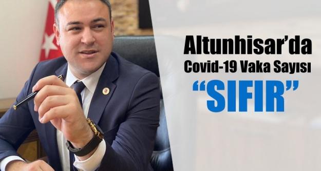 ALTUNHİSAR'DA COVİD-19 VAKASI SIFIRLANDI!